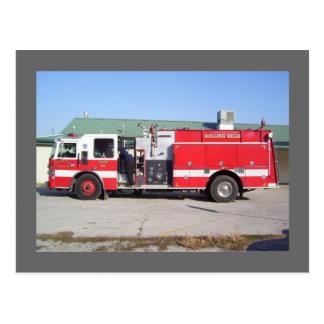 Rolling Hills Fire Department - Catoosa, OK Postcard