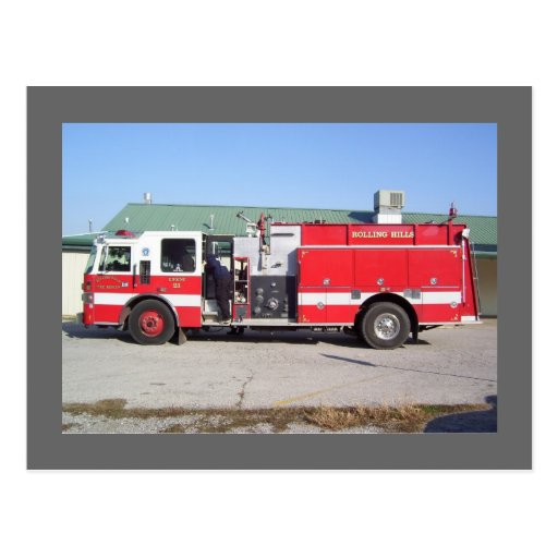 Rolling Hills Fire Department - Catoosa, OK Post Cards