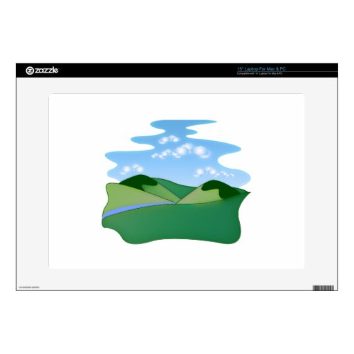 Rolling Hills Landscape Laptop Skin