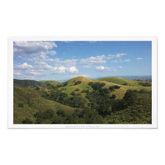 """Rolling Hills of Mount Diablo,"" Nature Decor Photo Print"