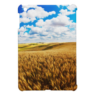 Rolling hills of ripe wheat case for the iPad mini