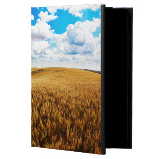 Rolling hills of ripe wheat iPad air covers