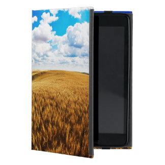 Rolling hills of ripe wheat iPad mini case