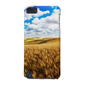 Rolling hills of ripe wheat iPod touch 5G cover