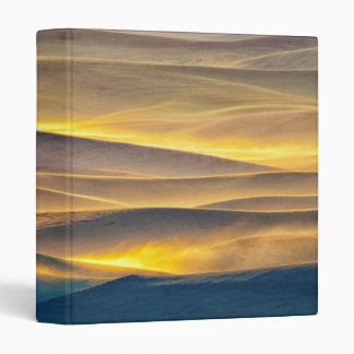 Rolling Hills of Wheat at Sunrise | WA Binder