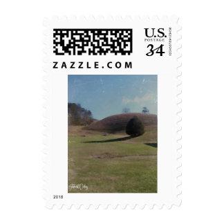 Rolling hills postcard postage