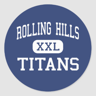 Rolling Hills - Titans - high - Van Nuys Classic Round Sticker