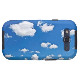 Rolling Hills verde debajo del cielo azul Galaxy SIII Carcasa