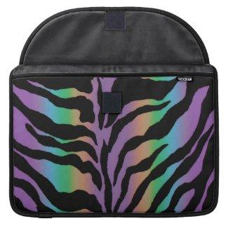 Rolling in Rainbows ~ Psychedelic Tiger Skins MacBook Pro Sleeves