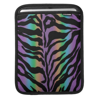Rolling in Rainbows ~ Psychedelic Tiger Skins Sleeve For iPads