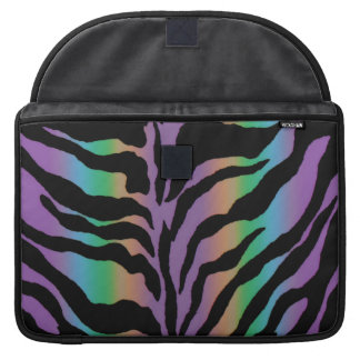Rolling in Rainbows ~ Psychedelic Tiger Skins Sleeve For MacBooks