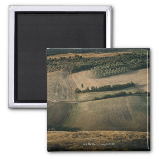 Rolling landscape, Pienza, Tuscany, Italy Magnet