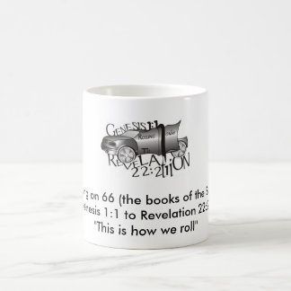 Rolling on 66 (the books of th... coffee mug