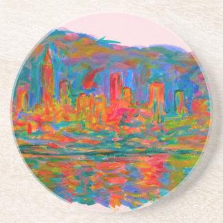 Rolling on New York Sandstone Coaster
