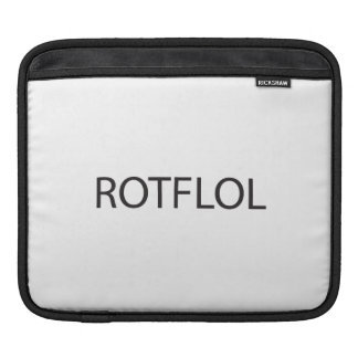 Rolling On The Floor Laughing Out Loud.ai iPad Sleeves