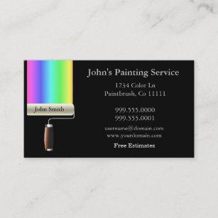 Painter business cards zazzle rolling painters business card colourmoves