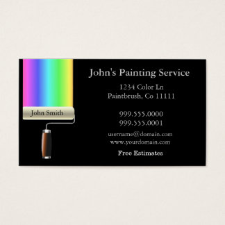 Rolling Painters Business Card