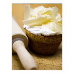 Rolling pin by muffin postcard