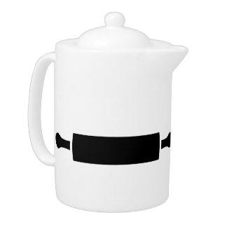Rolling pin teapot