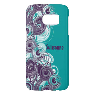 Rolling Purple Samsung Galaxy S7 Case