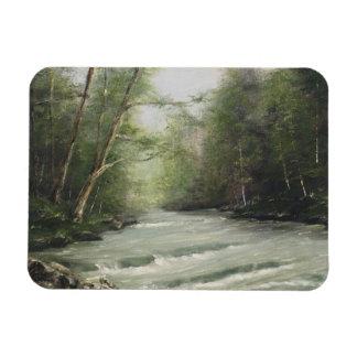 Rolling River Landscape Magnet