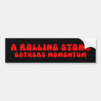 Rolling Stone Bumper Sticker Car Bumper Sticker
