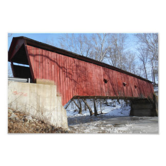 Rolling Stone Coverdd Bridge Photo Print