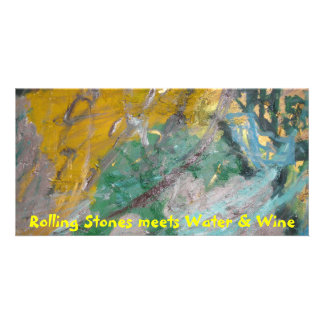 Rolling Stones meets Water & Wine Card
