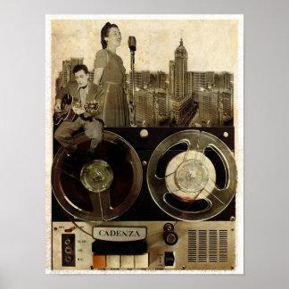 Rolling Tape Print