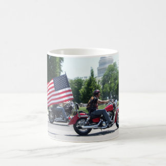 Rolling Thunder Patriotic mug