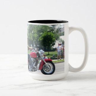 Rolling Thunder Two-Tone Coffee Mug