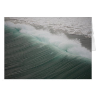 Rolling Wave Notecard Blank Stationery Note Card