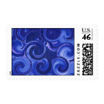 Rolling Waves Postage Stamps