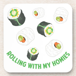 Rolling With Homies Coaster