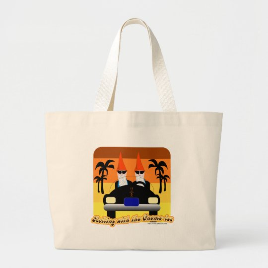 Rolling with the Gnom-ies Large Tote Bag