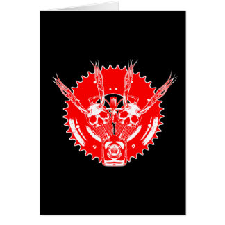 ROLLINGBONEZIII R/R/W GREETING CARD