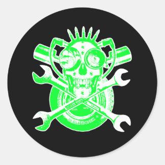RollingBonezIV - MANIAK MECHANIX Stickers