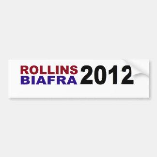 ROLLINS / BIAFRA in 2012 Car Bumper Sticker