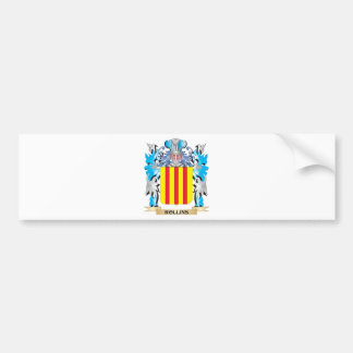 Rollins Coat of Arms - Family Crest Car Bumper Sticker