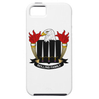 Rollins Family Crest iPhone 5 Case