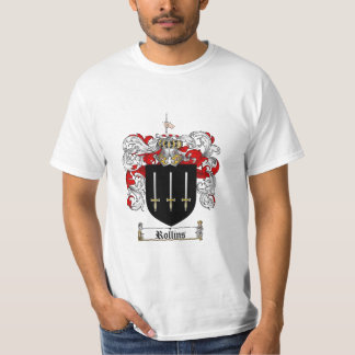 Rollins Family Crest - Rollins Coat of Arms T Shirt