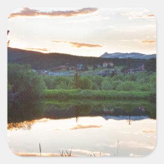 Rollinsville Colorado Sunset Sticker