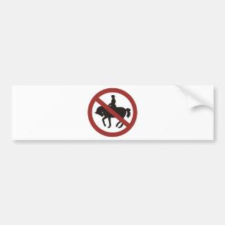 Rollkur - Nein Danke Bumper Sticker