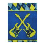 Rollo/cruz-guitarras envueltos lona del n de la ro impresión en lona