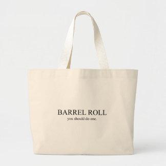 Rollo de barril 1 bolsa tela grande
