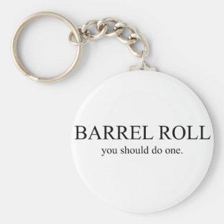 Rollo de barril 1 llaveros