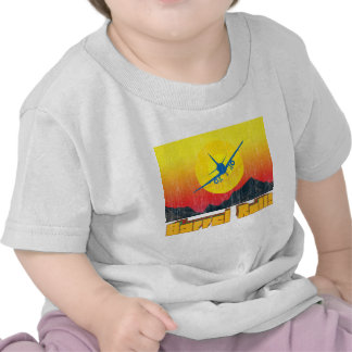 Rollo de barril 2 retros camiseta