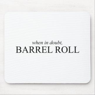 Rollo de barril 7 alfombrilla de ratones