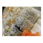 Rollo de California - sushi vegetariano Postal