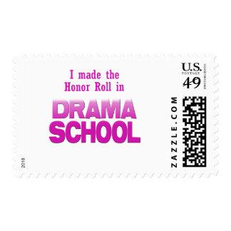 Rollo de honor de la escuela del drama